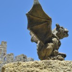 Gargoyle at Castello di Amorosa