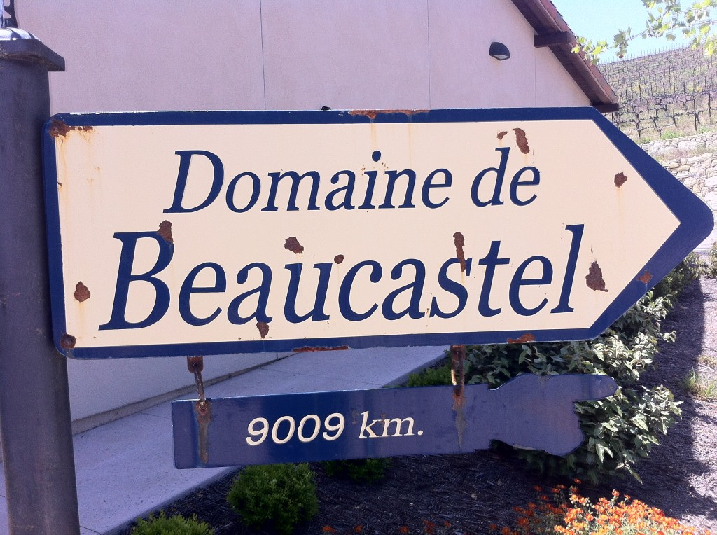 Tablas Creek Domaine de Beaucastel