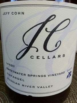 2009 JC Cellars Landy Sweetwater Springs Vineyard Zinfandel