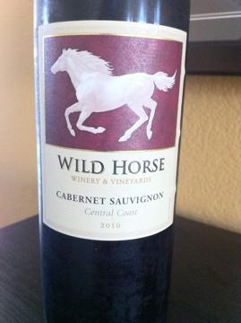2010 Wild Horse Cabernet Sauvignon