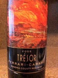 2005 Ferrari-Carano Tresor Reserve