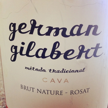 German Gilabert Penedès Brut Nature Rosat