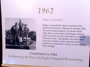 Ridge Landmark signs
