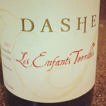 2011 Dashe Cellars Les Enfants Grenache, Dry Creek Valley