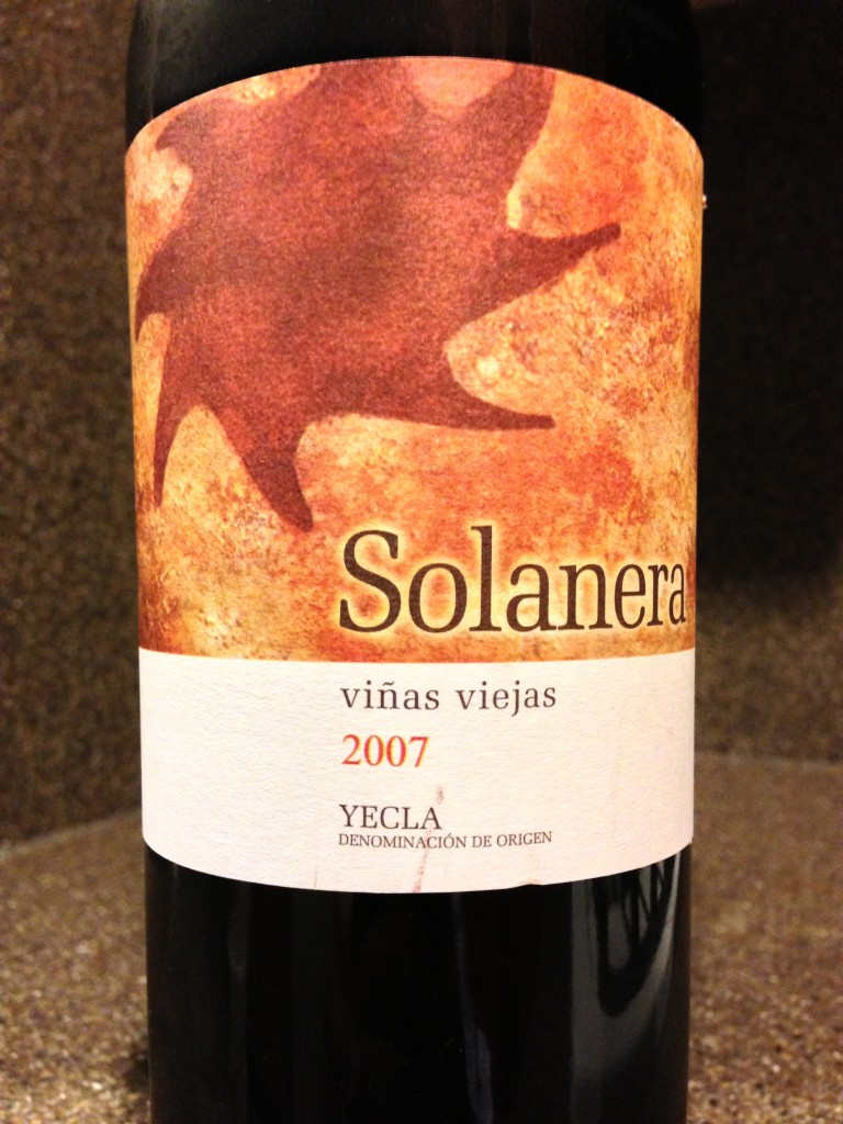 2007 Bodegas Castaño Yecla Solanera Viñas Viejas