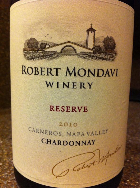 2010 Robert Mondavi Reserve Chardonnay, Carneros