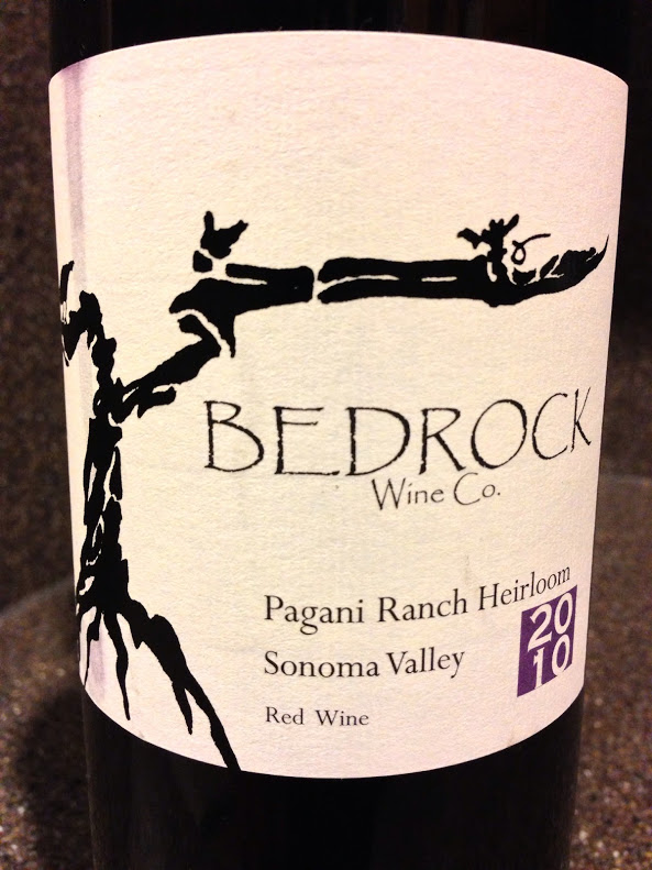Wine of the Week; 2010 Bedrock Wine Co. Heirloom Wine Pagani Ranch