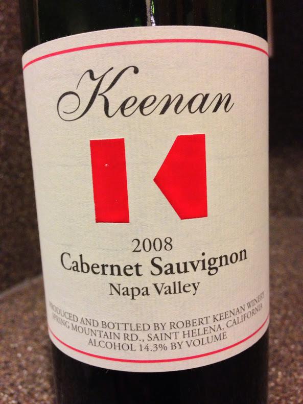 Robert Keenan Cabernet Sauvignon - Napa Valley