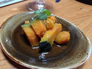 Pinnacle Kabocha Squash in Mushroom Dashi