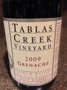2009 Tablas Creek Vineyard Grenache