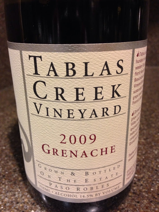 2009 Tablas Creek Vineyard Grenache