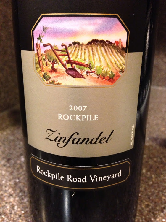 Wine of the Week; Rosenblum Cellars 2007 Rockpile Zinfandel