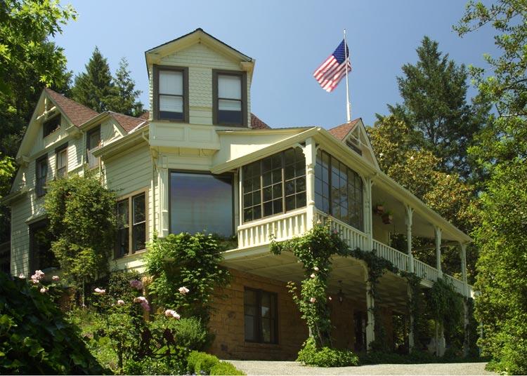 Schramsberg Historic House (image courtesy of Schramsberg Vineyards)
