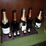 Sparkling wines tasted at sit-down tasting