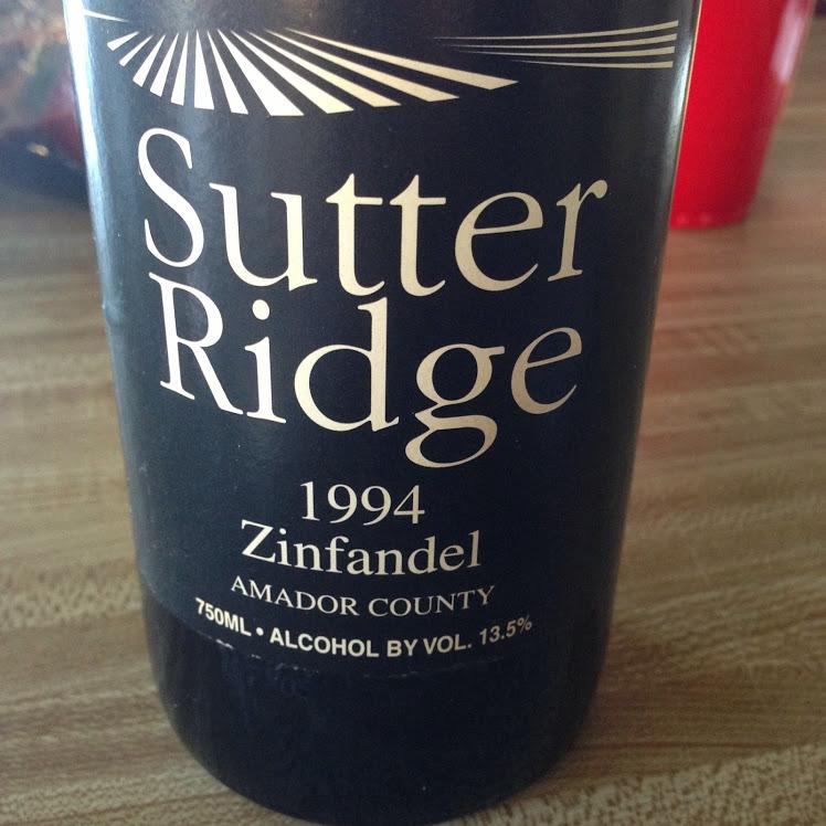 OTBN Wine 2 Sutter Ridge Zinfandel
