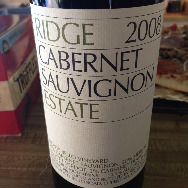 OTBN Wine 5 Ridge Estate Cab