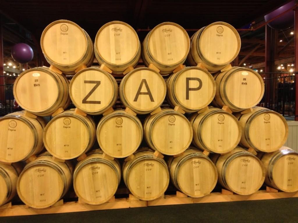 Zinfandel Festival - ZAP barrels