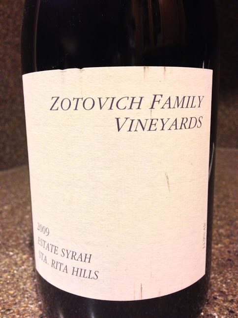 2009 Zotovich Family Estate Syrah