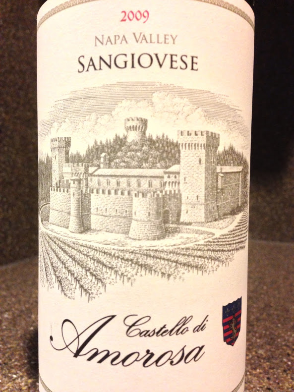 2009 Castello di Amorosa Sangiovese