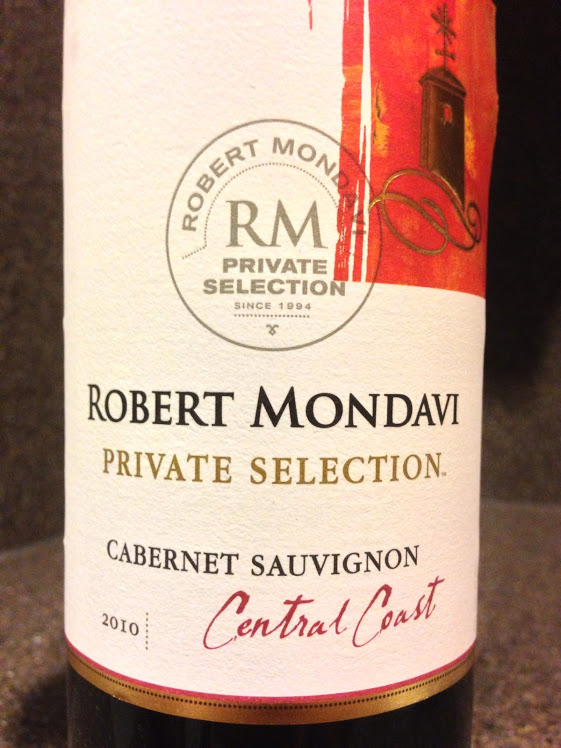 Robert Mondavi Private Selection Cab