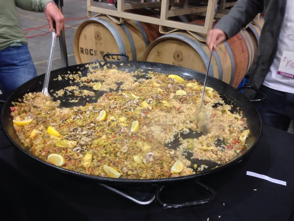 Seventh Annual Dark & Delicious Recap - Paella