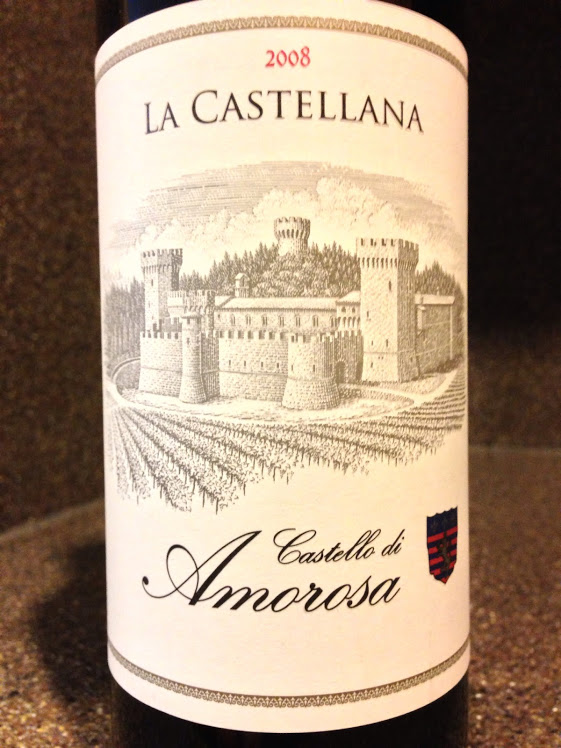 Wine of the Week Castello di Amorosa La Castellana