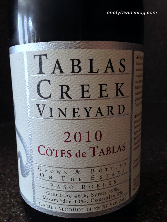 Wine of the Week; 2010 Tablas Creek Cote de Tablas
