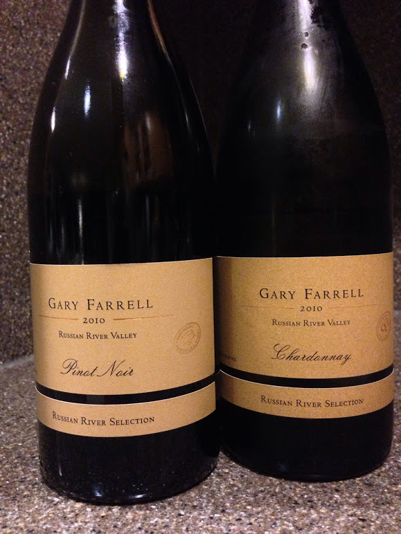 Wine Wednesday Review; Gary Farrell  RRV Selection