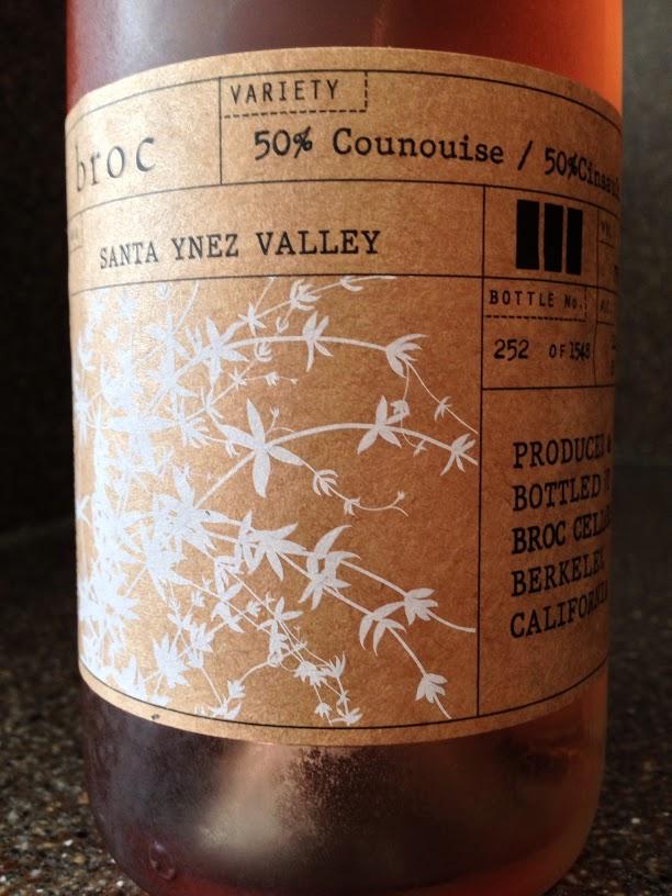 Broc Cellars Santa Ynez Valley Rose