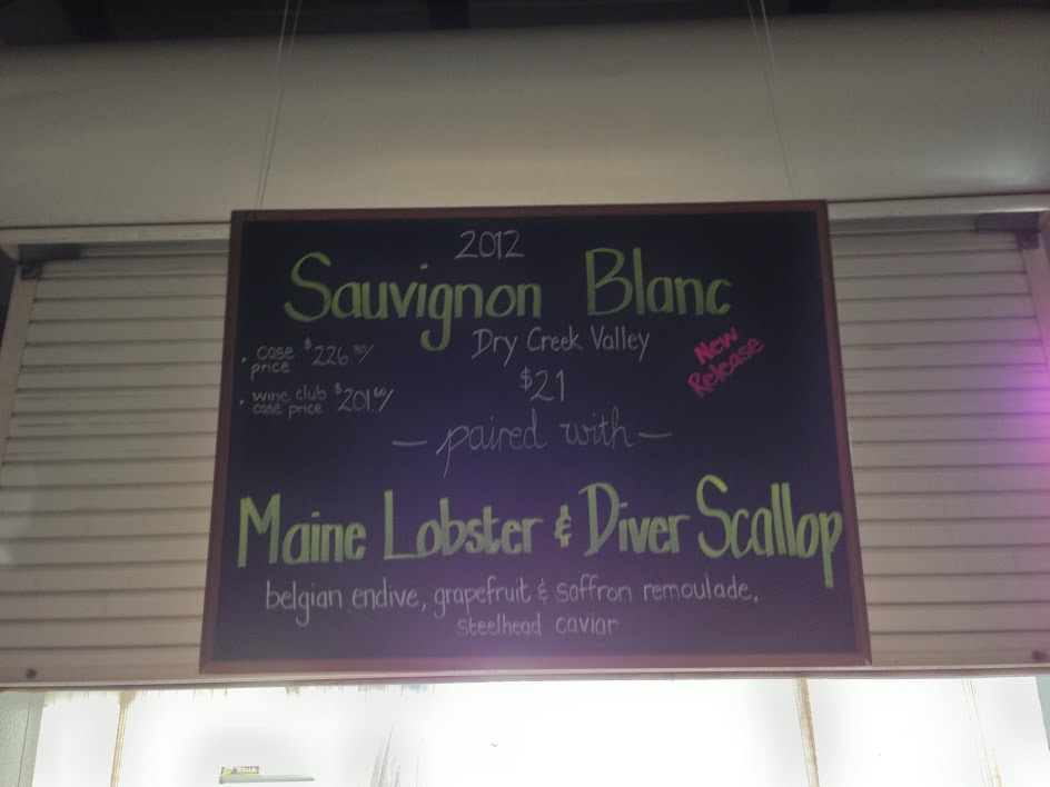 mauritson diver scallops sign