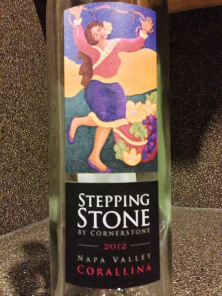 Drink Pink....Rosé of the Week: 2012 Cornerstone Cellars Stepping Stone Corallina Rosé