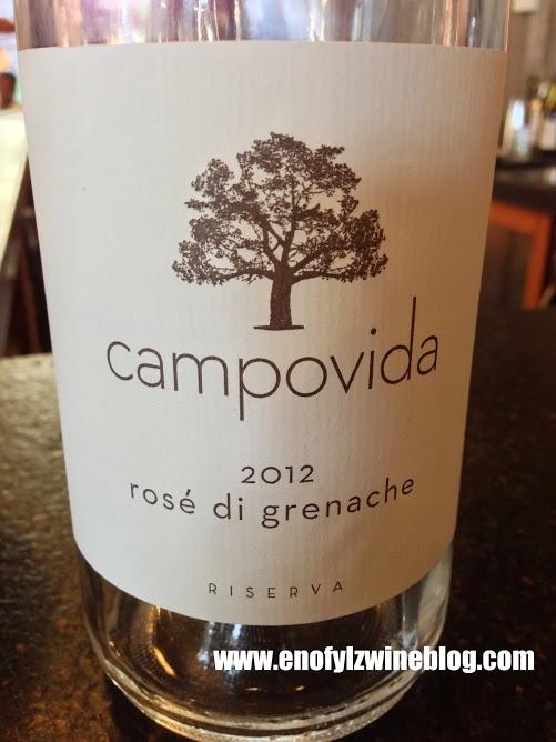 2012 Campovida Rose di Grenache