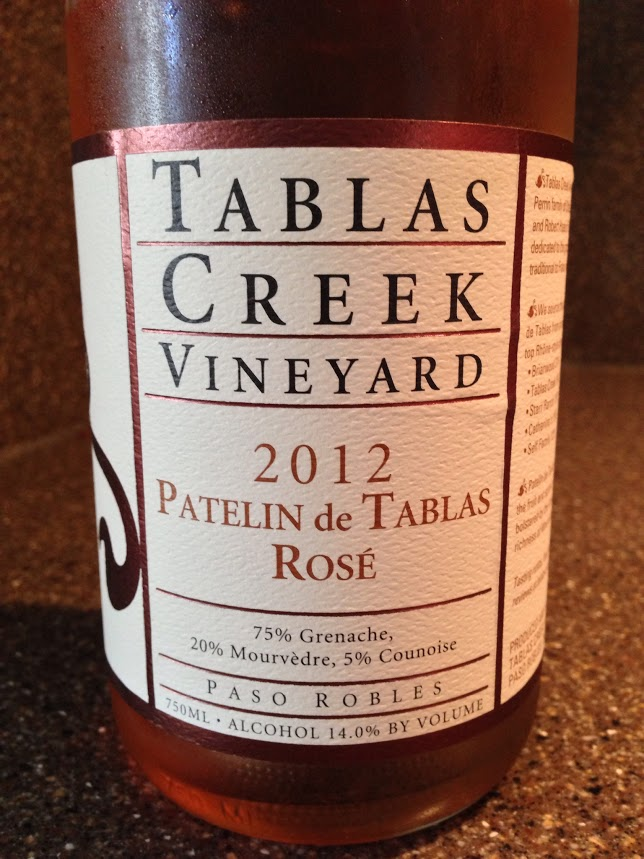 Drink Pink...2012 Tablas Creek Patelin de Tablas Rosé