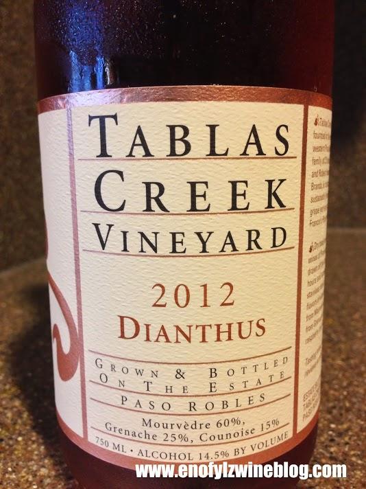 Drink Pink! Rosé of the Week; 2012 Tablas Creek Vineyards Dianthus
