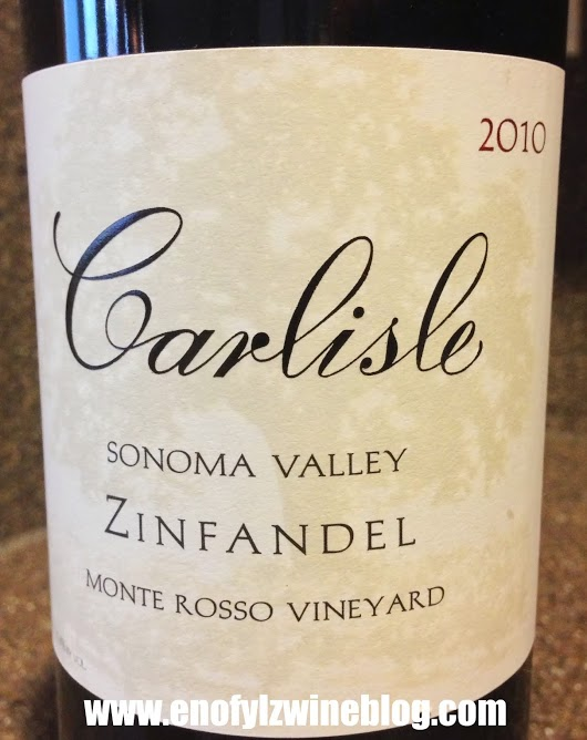 2010 Carlisle Zinfandel Monte Rosso Vineyard
