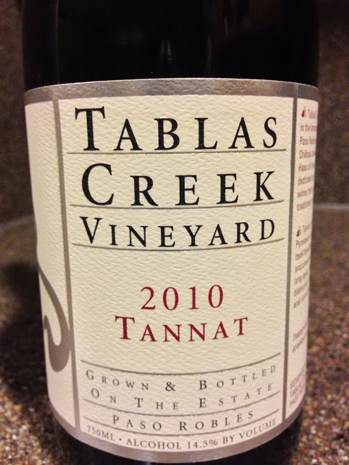 2010 Tablas Creek Tannat