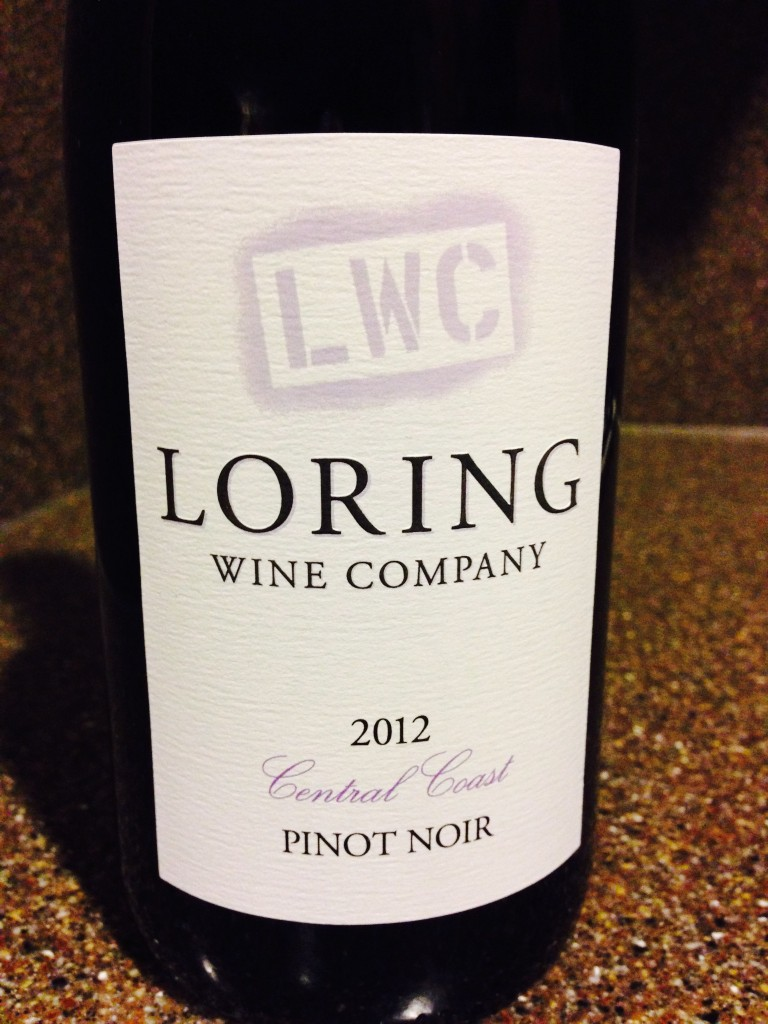Wine of the Week: 2012 Loring Wine Company Pinot Noir Central Coast