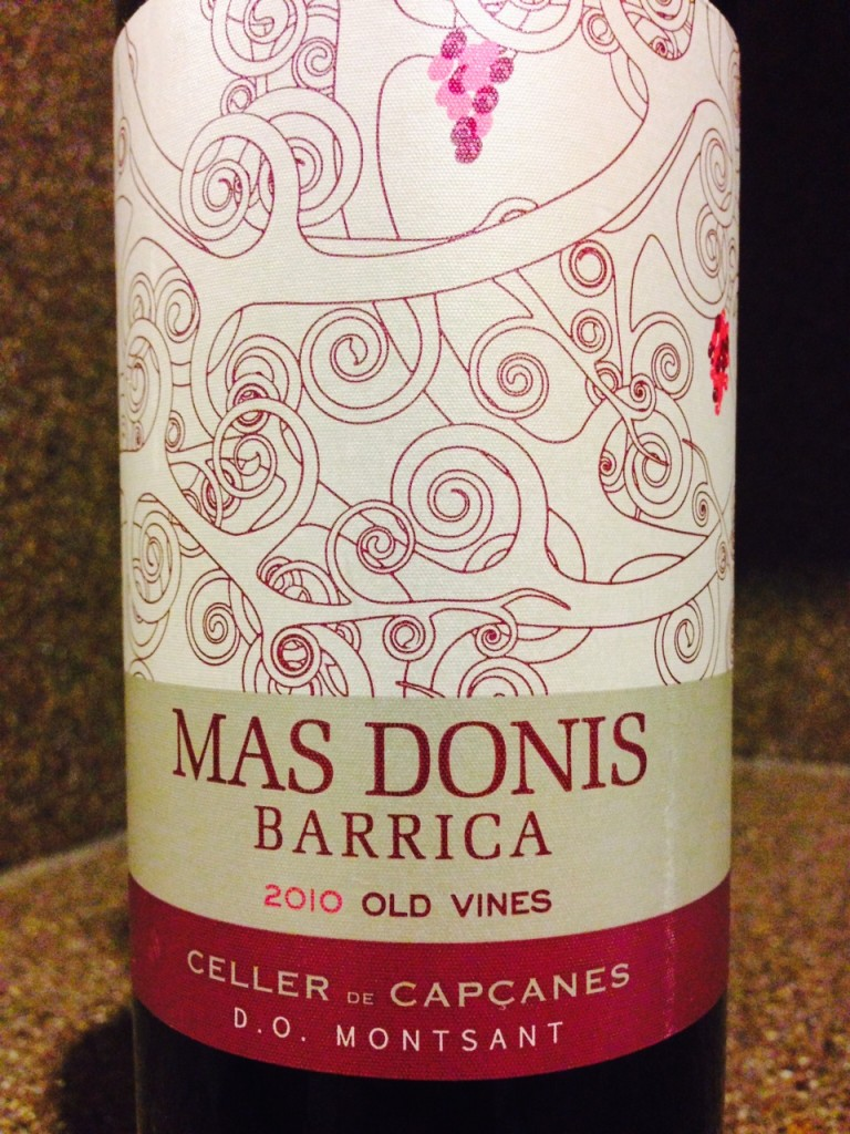 "Value Alert! 2010 Celler de Capcanes ""Mas Donis"" Barrica Montsant"