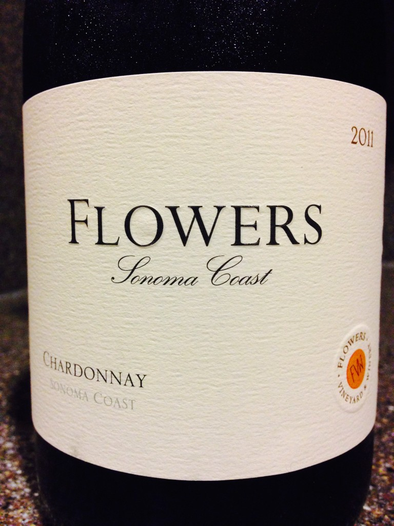 Wine of the Week; 2011 Flowers Chardonnay Sonoma Coast