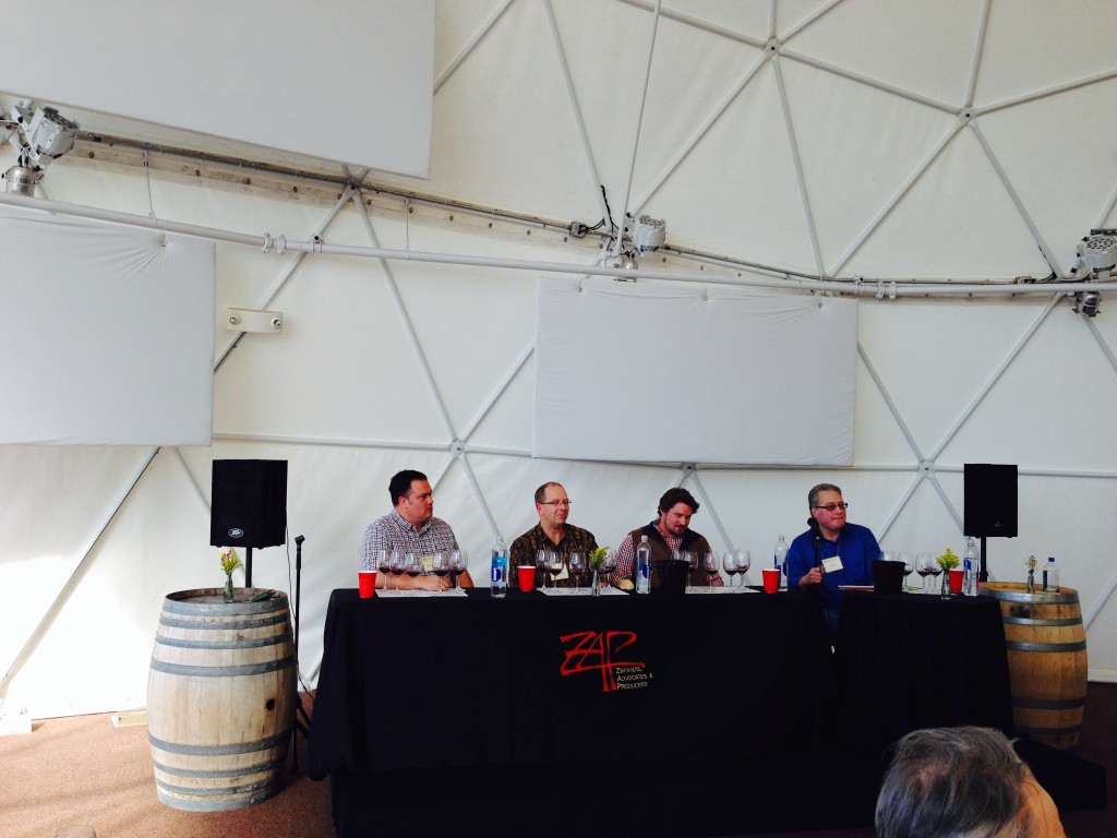 Recap of ZAP Zinfandel Experience Trade/Media Tasting