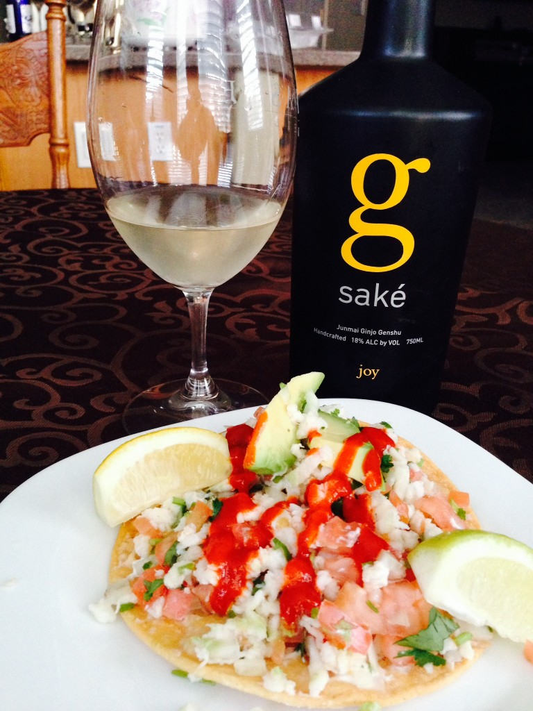 A Perfect Pairing: Shrimp Ceviche and Saké