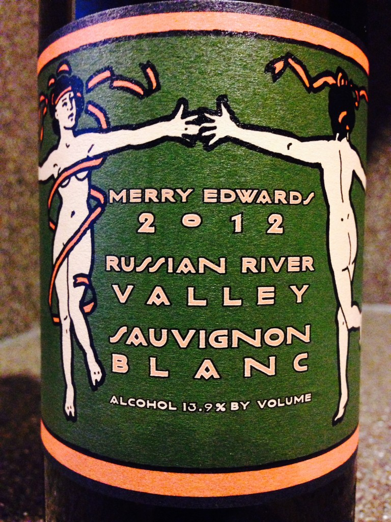 Wine of the Week: 2012 Merry Edwards Sauvignon Blanc