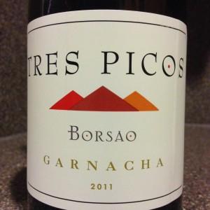 #WineWednesdayReview; 2011 Bodegas Borsao Garnacha Tres Pico