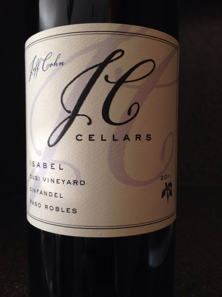 Wine of the Week; 2011 JC Cellars Isabel Dusi Vineyard Zinfandel