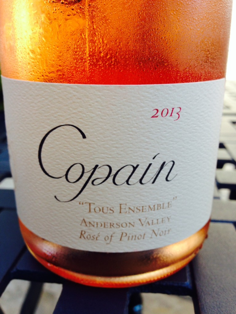 #DrinkPink Rosé of the Week; 2013 Copain Tous Ensemble Rosé