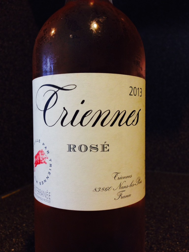 #DrinkPink Rose of the Week: 2013 Domaine de Triennes Rosé