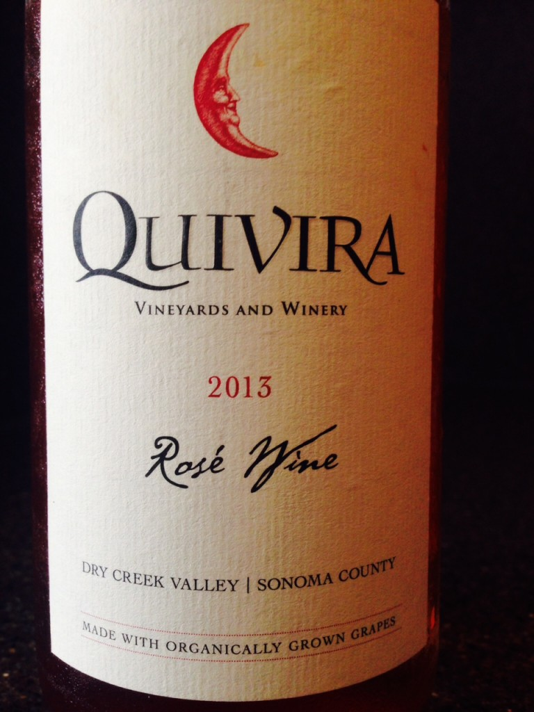 #DrinkPink Rose of the Week; 2013 Quivira Rose