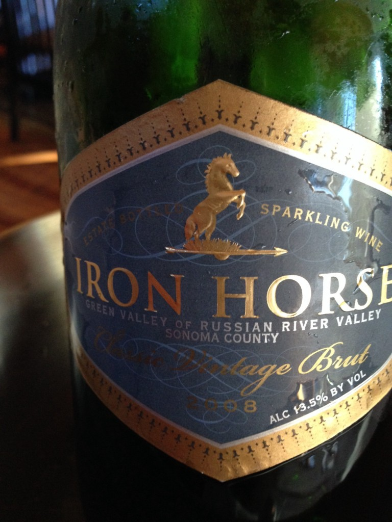 Wine of the Week; 2008 Iron Horse Vineyard Classic  Vintage Brut