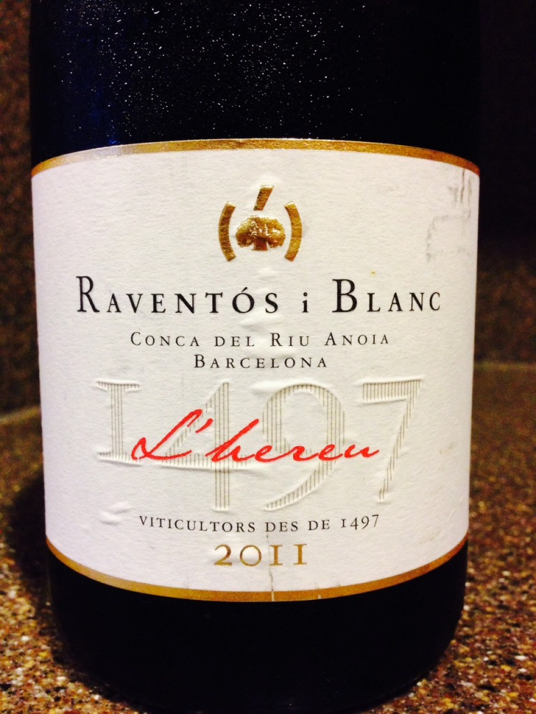 "Wine of the Week: Raventós i Blanc ""L'hereu"" Brut"