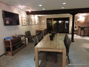 Inside the tasting room at Billecart-Salmon